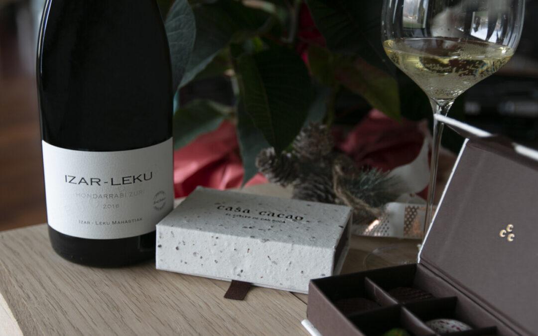 Izar Leku, un vino espumoso de Artadi