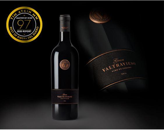 Gran Valtravieso 2016, valorado con 97 puntos en el TOP 100 del Master of Wine Tim Atkin